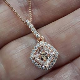 Diamond Pendant At Camperdown Showcase Jewellers
